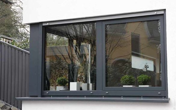 fenster hochwertig sicher und w rmeged mmt klauke aluminium architektur. Black Bedroom Furniture Sets. Home Design Ideas